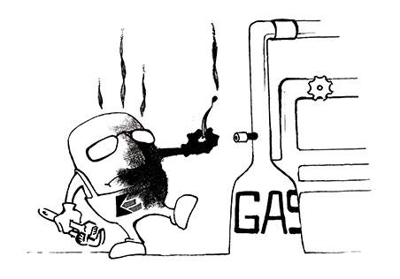 Gasinstallationen